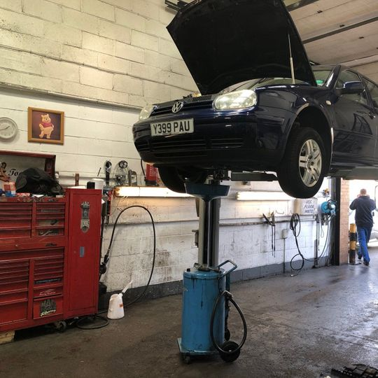Car Being Serviced - Paice Motors